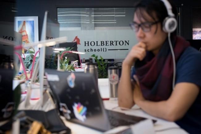 Holberton, installée à San Francisco, a bénéficié à sa création du soutien financier de Trinity Ventures, Daphni, Reach Capital, AME Cloud Ventures et Partech Ventures. (crédit : D.R.)