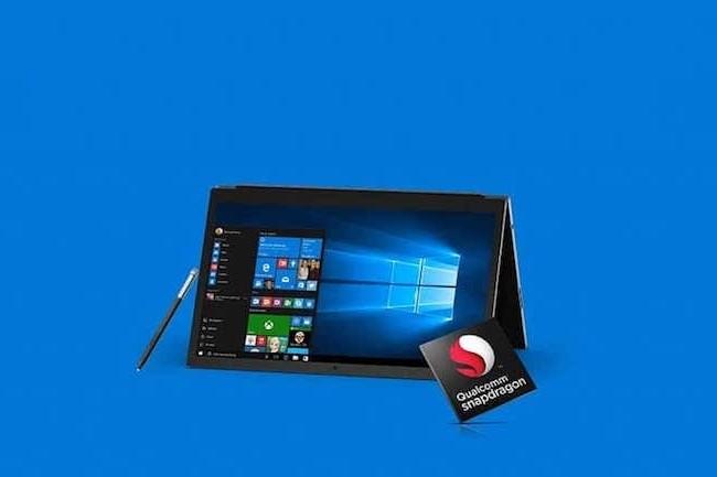 Plusieurs PC portables animés par le duo WIndows 10/Snapdragon 835 sont attendus chez HP, Lenovo et Asus. (Crédit D.R.)