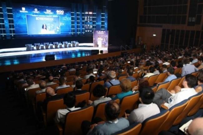 Le Cigref a organisé une mission learning en Israël sur la cybersécurité, une vue de la salle des plénières. (crédit : D.R.)