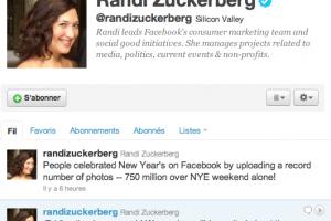 Facebook a reçu 750 millions de photos pour le nouvel an