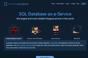 Une base de données as a service pour Heroku de Salesforce.com