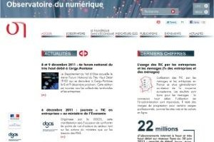 La France se dote d'un observatoire du numérique