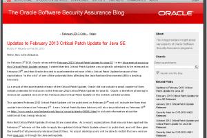 Oracle livrera un 2e correctif pour Java SE le 19 février