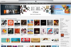 Apple retrace les 10 ans d'iTunes