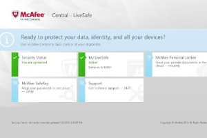 McAfee propose de la sauvegarde en ligne scurise par biomtrie