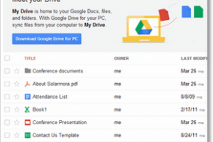 Google fusionne les capacits de stockage de Gmail et Drive