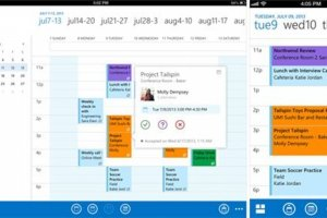 Outlook arrive sur iPhone et iPad
