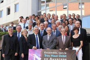 L'Auvergne déploie la fibre optique avec Orange