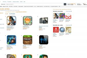 La boutique d'apps d'Amazon accepte les applications HTML5