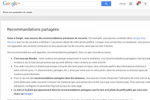 Comment se d�sabonner du programme �Commentaires partag�s� de Google