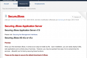 Une vuln�rabilit� JBoss activement exploit�e par des hackers