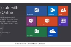 Microsoft abandonne le nom d'Office Web Apps au profit d'Office Online
