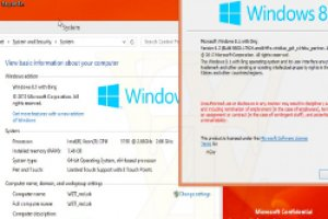 Microsoft pr�parerait une version gratuite de Windows 8.1