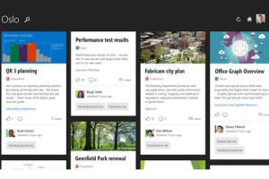 Avec Oslo, Microsoft veut rendre Office 365 � plus intelligent �