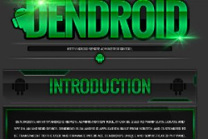 Dendroid industrialise la cr�ation de malware sur Android