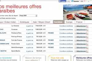 Air France optimise les processus de test de son site web