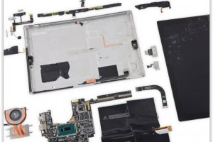 La Surface Pro 3 tr�s difficile � r�parer