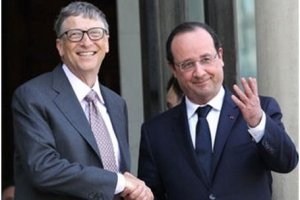 Bill Gates milite pour la r�duction des in�galit�s par la philanthropie