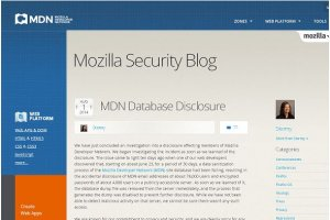 Le site d�veloppeurs de Mozilla a expos� 76 000 adresses mails