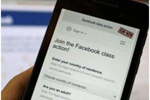 MAJ : L'action collective contre Facebook pas encore accept�e par le tribunal