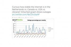 Le trafic Internet perturb� par les limites de certains routeurs
