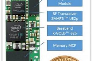 Intel pr�sente un modem 3G miniature taill� pour les objets connect�s
