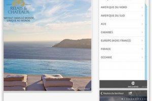 Relais & Chateaux connecte son app mobile aux r�seaux sociaux