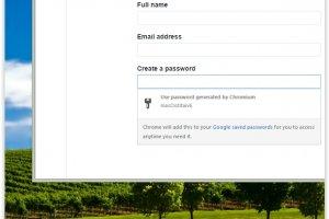 Un g�n�rateur de mots de passe fait son entr�e dans Chrome