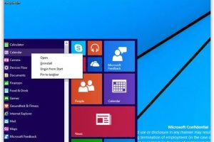 Windows 9 ressemble de plus en plus �... Windows
