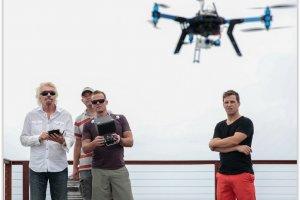 Le milliardaire Richard Branson investit dans les drones
