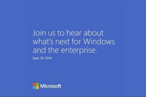 Une pr�version de Windows 9 pr�sent�e fin septembre ?
