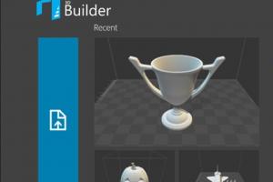 Microsoft ajoute l'impression depuis le cloud � Builder 3D