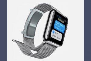 Un bracelet biom�trique pour montre connect�e