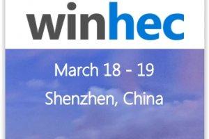 Microsoft ressuscite WinHEC