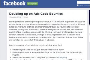 Facebook double la mise pour debugger son syst�me publicitaire
