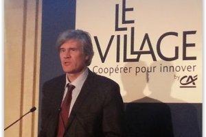 Le Crédit Agricole inaugure la pépinière à start-ups Le Village