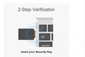 Avec la Security Key, Google s�curise les acc�s � ses comptes