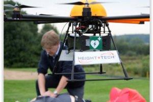 Un drone ambulancier vole au secours des victimes d'accidents cardiaques