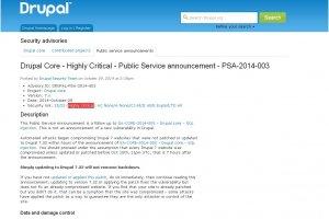Injection SQL : les sites Drupal 7 compromis