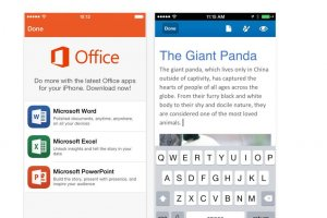 Microsoft lance 3 apps Office pour iPhone
