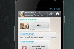 Les messages envoy�s avec WhatsApp sont d�sormais chiffr�s