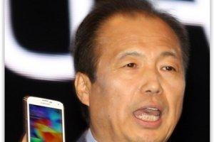 J.K. Shin, coCEO de Samsung, mena�� suite aux m�ventes mobiles