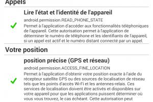 La CNIL �pingle l'indiscr�tion GPS des apps Android