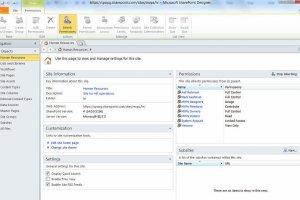 SharePoint Online : Microsoft tue son outil de cr�ation de sites web
