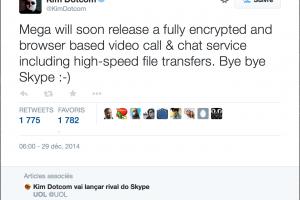 MegaChat, la messagerie s�curis�e de Kim Dotcom