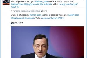 Twitter annonce un partenariat traduction avec Bing