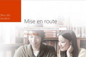 Office 365 en accès gratuit pour les étudiants français