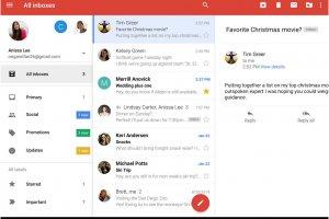 Gmail pour Android g�re plusieurs comptes et Photos arrive dans Drive