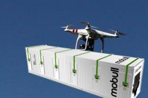 Un datacenter modulaire livr� par drone