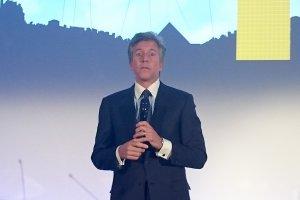 Bill Mc Dermott � Paris pour inaugurer le si�ge de SAP France